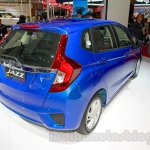 Honda Jazz rear three quarters left at the Indonesia International Motor Show 2014