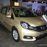 Honda Mobilio front left three quarter at the NADA Auto Show Nepal