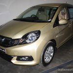 Honda Mobilio front three quarter at the NADA Auto Show Nepal