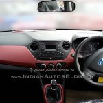 Hyundai Grand i10 SportZ edition dashboard full view
