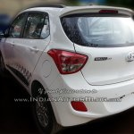 Hyundai Grand i10 SportZ edition rear three quarters left