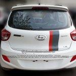 Hyundai Grand i10 SportZ edition rear