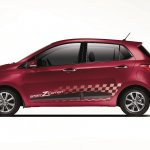 Hyundai Grand i10 SportZ edition side view press image