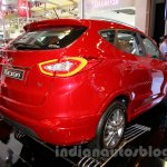 Hyundai Tucson rear three quarters at the 2014 Indonesia International Motor Show