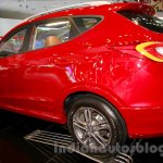 Hyundai Tucson rear three quarters left at the 2014 Indonesia International Motor Show