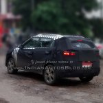 Hyundai ix25 Spied India IAB rear