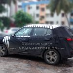Hyundai ix25 Spied India IAB side