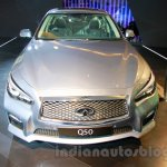 Infiniti Q50 Hybrid front at the 2014 Indonesia International Motor Show