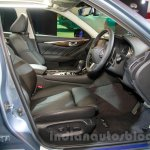 Infiniti Q50 Hybrid front seats at the 2014 Indonesia International Motor Show