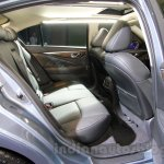 Infiniti Q50 Hybrid rear seats at the 2014 Indonesia International Motor Show
