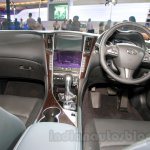 Infiniti Q50 dashboard at the 2014 Indonesia International Motor Show