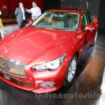 Infiniti Q50 front three quarters at the 2014 Indonesia International Motor Show