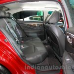 Infiniti Q50 rear seat at the 2014 Indonesia International Motor Show