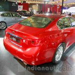 Infiniti Q50 rear three quarters right at the 2014 Indonesia International Motor Show
