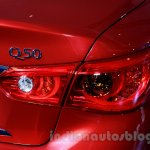 Infiniti Q50 taillamp at the 2014 Indonesia International Motor Show