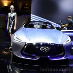 Infiniti Q80 Inspiration Concept front at the 2014 Paris Motor Show
