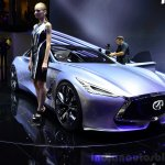 Infiniti Q80 Inspiration Concept front three quarters 1:2 at the 2014 Paris Motor Show