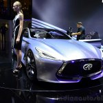 Infiniti Q80 Inspiration Concept front three quarters 2:2 at the 2014 Paris Motor Show