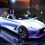 Infiniti Q80 Inspiration Concept front three quarters at the 2014 Paris Motor Show