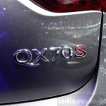Infiniti QX70S Design badge