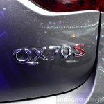 Infiniti QX70S Design badge