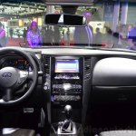 Infiniti QX70S Design dashboard