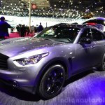 Infiniti QX70S Design front three quarters