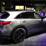 Infiniti QX70S Design rear three quarters