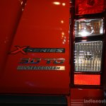 Isuzu D-Max taillight at the CAMPI 2014