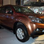 Isuzu MU-X front three quarter at the CAMPI 2014