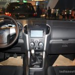 Isuzu MU-X interior at the CAMPI 2014