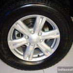 Isuzu MU-X wheel at the CAMPI 2014