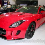 Jaguar F-Type S Coupe at the 2014 Indonesia International Motor Show front quarter angle