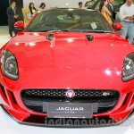 Jaguar F-Type S Coupe at the 2014 Indonesia International Motor Show front
