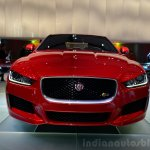 Jaguar XE S front fascia at the 2014 Paris Motor Show