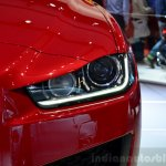 Jaguar XE S headlight at the 2014 Paris Motor Show