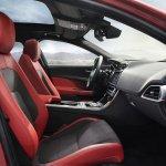 Jaguar XE cabin front official image
