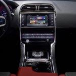Jaguar XE center console official image