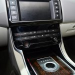 Jaguar XE center console zoom at the 2014 Paris Motor Show
