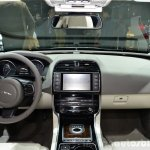 Jaguar XE dashboard at the 2014 Paris Motor Show