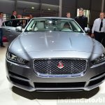 Jaguar XE front at the 2014 Paris Motor Show