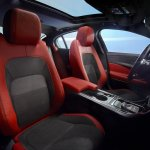 Jaguar XE front seats official image