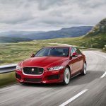 Jaguar XE front three quarters right official image