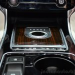 Jaguar XE gear selector at the 2014 Paris Motor Show