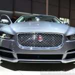 Jaguar XE grille at the 2014 Paris Motor Show