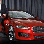 Jaguar XE leaked front fascia
