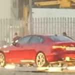 Jaguar XE leaked rear