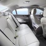 Jaguar XE rear seat white interior rear aircon vent official image