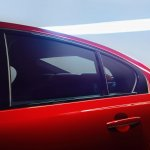 Jaguar XE rear window official image