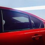 Jaguar XE rear window official image